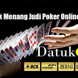 Tips & Trik Menang Judi Poker Online Uang Asli